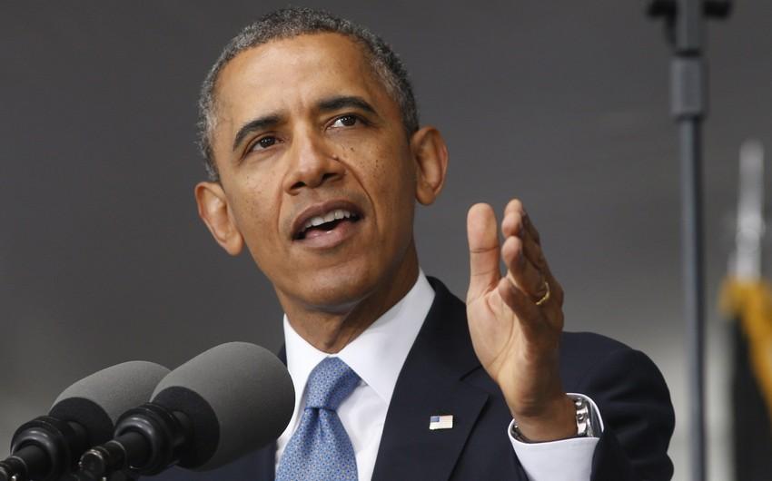Barak Obama: Suriyada barışığın əldə edilməsinə daha çox səy göstərmək lazımdır