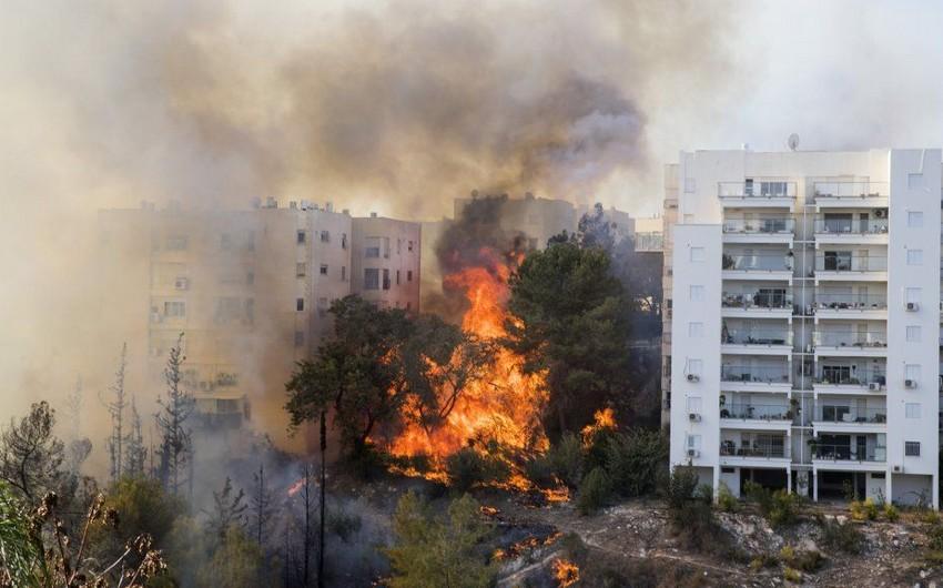 İsraildə yanğın törətməkdə şübhəli bilinən 12 nəfər saxlanılıb