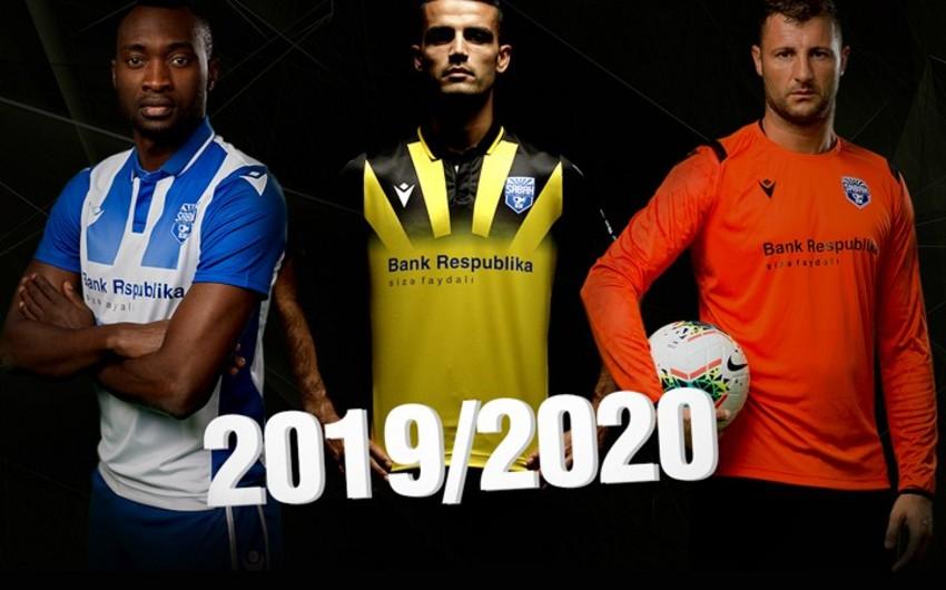 Sabah futbol klubu yeni mövsüm üçün formalarını təqdim edib - VİDEO