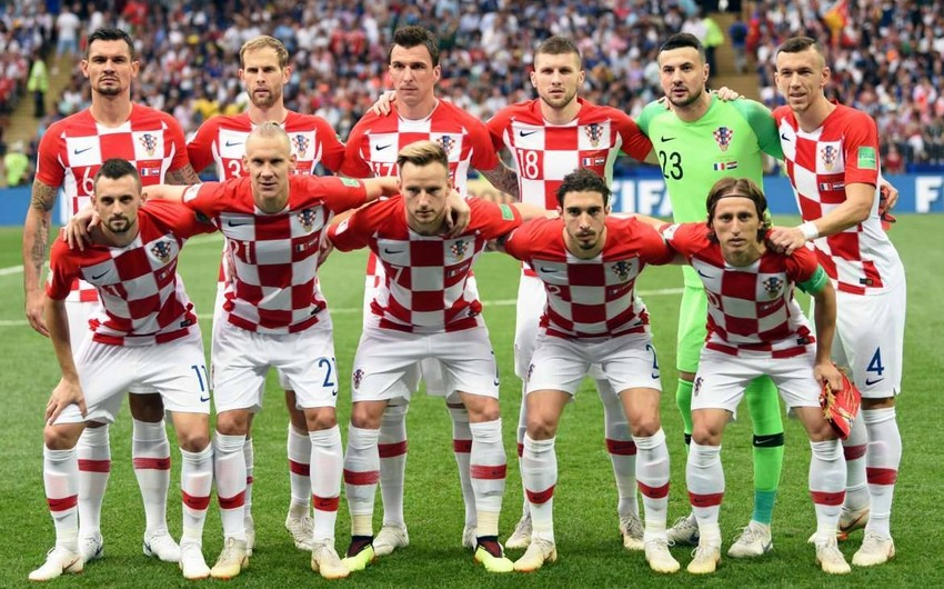 Croatia unveils squad for Azerbaijan match