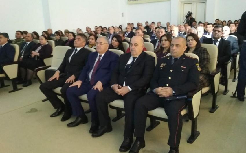 DTX Ağdamda gənc nəslin maarifləndirilməsi üçün konfrans keçirib - FOTO - VİDEO