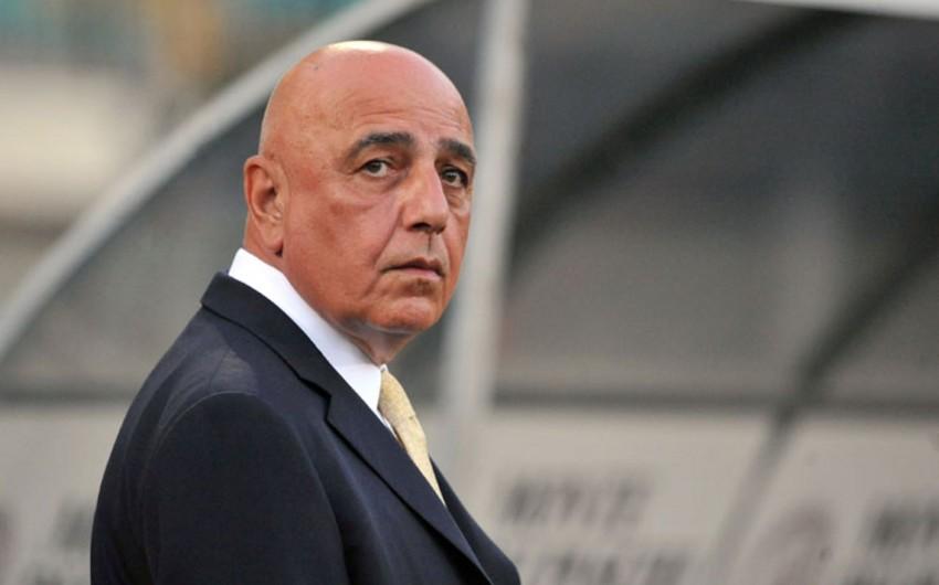 Adriano Qalliani Realın texniki direktoru olmaqdan imtina edib