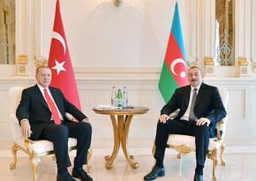 Ильхам Алиев выразил соболезнования Реджепу Тайипу Эрдогану