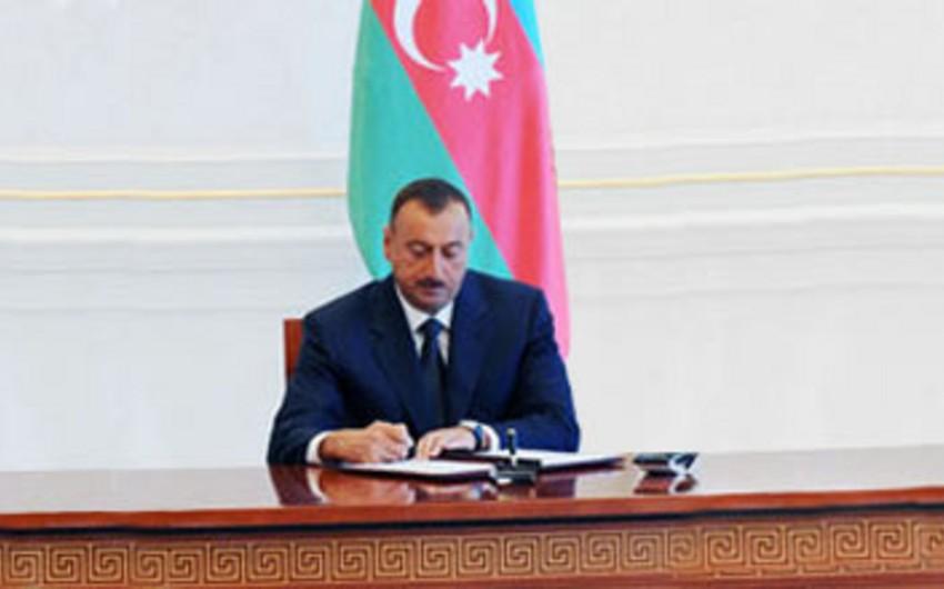 Prezident Bərdə Rayon İcra Hakimiyyətinə 5 milyon manat ayrılması barədə sərəncam imzalayıb