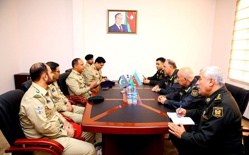 Pakistani Armed Forces delegation arrives in Azerbaijan