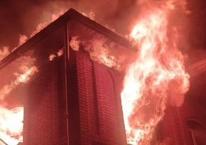 В Астаре при неизвестных обстоятельствах сгорел дом, в котором произошла поножовщина