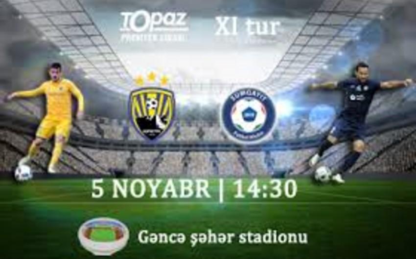 Azərbaycan Premyer Liqasında XI turun açılış oyunu qolsuz başa çatıb