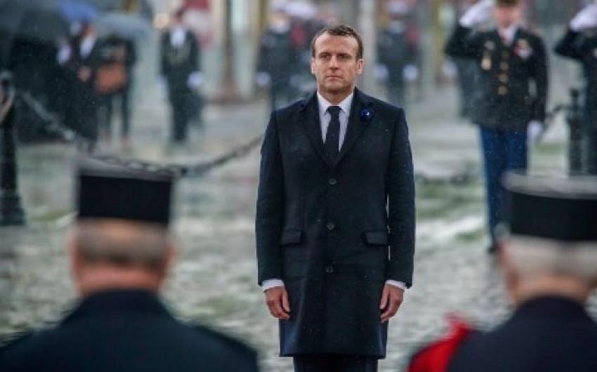 Fransada II Dünya müharibəsinin başa çatmasının ildönümü qeyd olunub