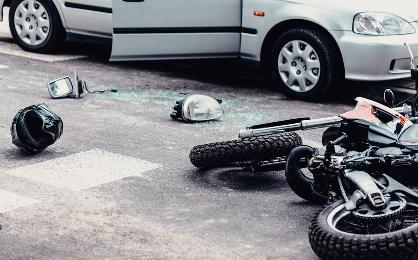 Abşeronda motosikleti vuraraq qaçan sürücü tutuldu