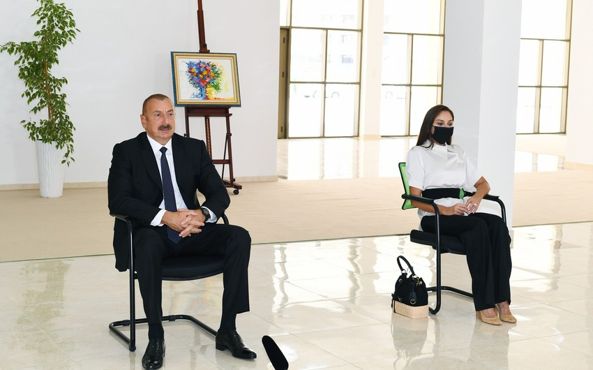 President : Everyone can look at the map and see that Azerbaijan has dominant strategic positions