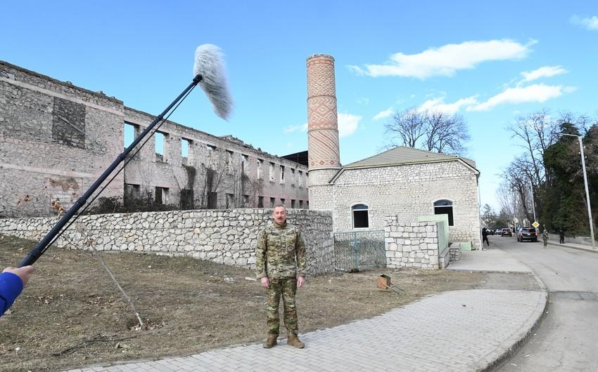 Prezident Qarabağdakı separatçılara: Siz buradasınız, yaxındasınız. Gəlin alın, görüm necə alırsınız?