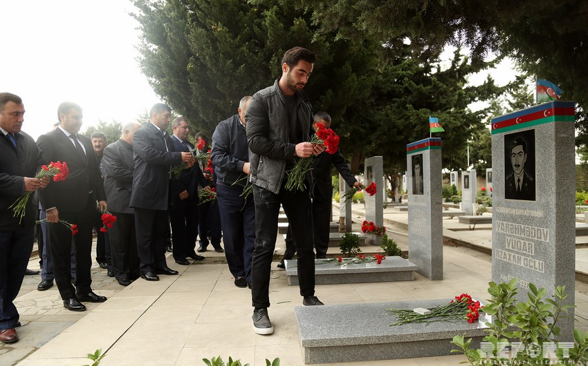 20 years pass since burial of Azerbaijani reconnaissance officers who blew themselves up