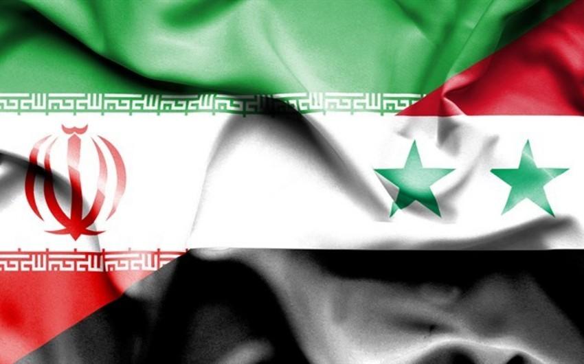 İran və Suriya hərbi əməkdaşlıq haqqında saziş imzalayıb
