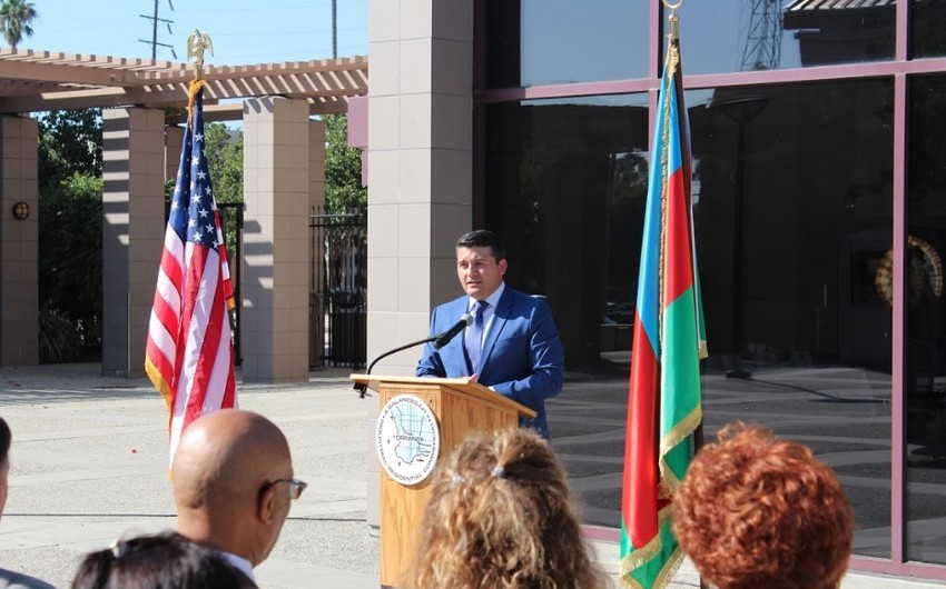 Mayor of Torrance City: Azerbaijan largest trade partner of United States