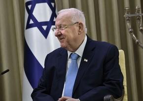 İsrail prezidenti hökuməti formalaşdırmağı baş nazirə həvalə edib