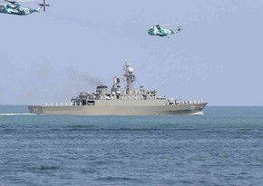 Iranian Navy starts exercises in Caspian Sea