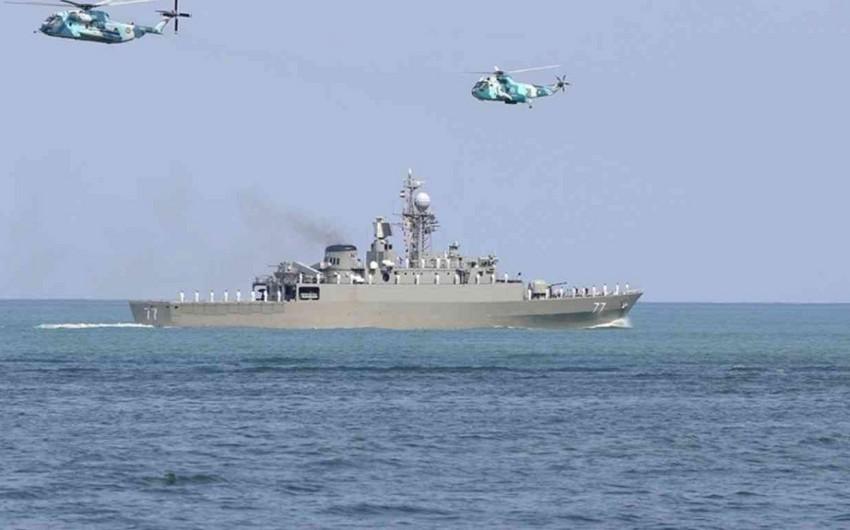 ВМС Ирана начали учения в Каспийском море