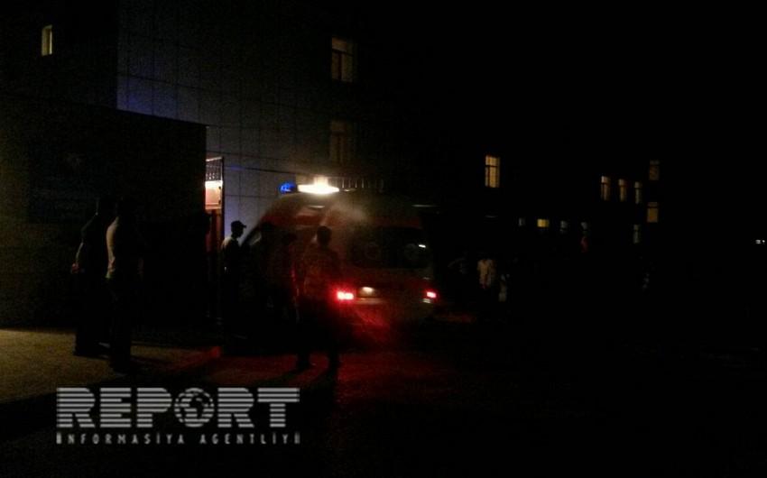 Qazaxda yol qəzası nəticəsində 1 nəfər yaralanıb
