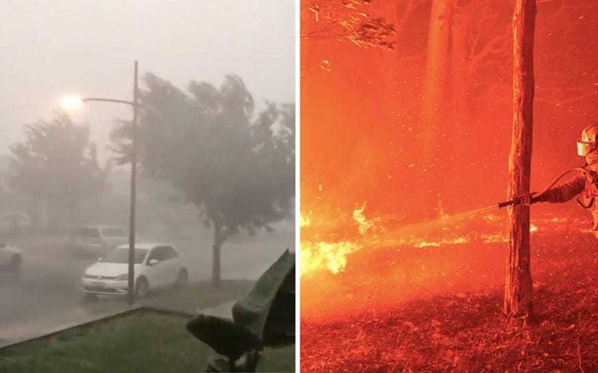 На побережье Австралии обрушились сильные ливни и паводки