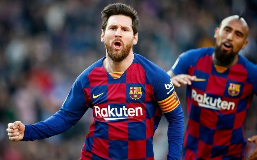 Messi Barselonada yeni rekordlara imza atdı