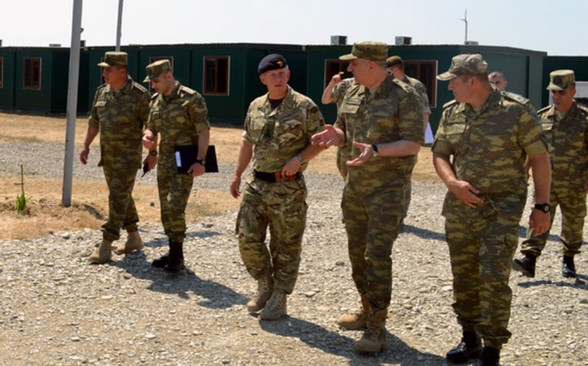 Delegation of British Army pays visit to Azerbaijan