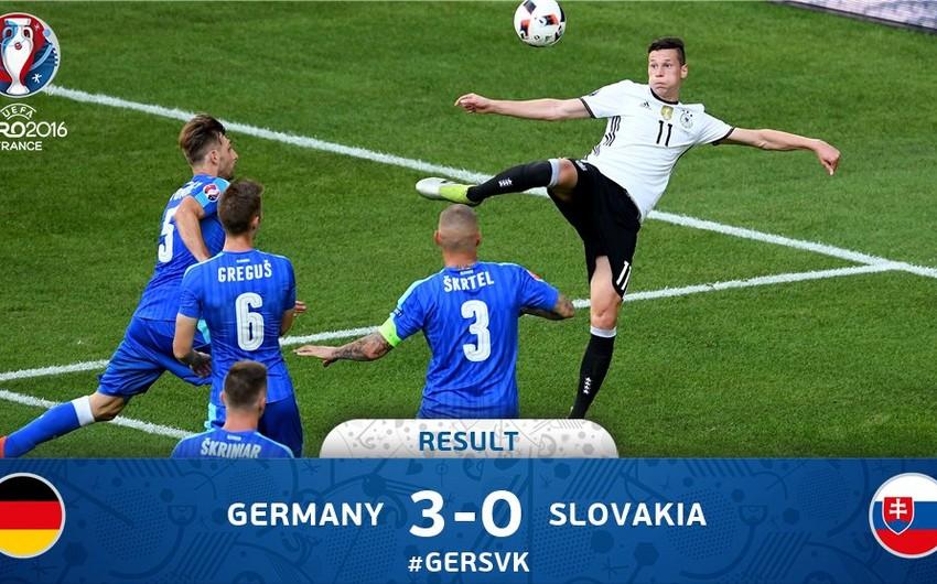 AVRO-2016: Almaniya Slovakiyanı darmadağın edərək ¼ finala çıxıb - VİDEO