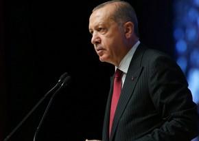 Ərdoğan: Türkiyədə yaradılmış şirkətlərin sayı 20 faiz artıb