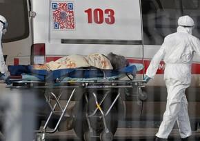 Moskvada son sutkada koronavirusdan onlarla insan ölüb