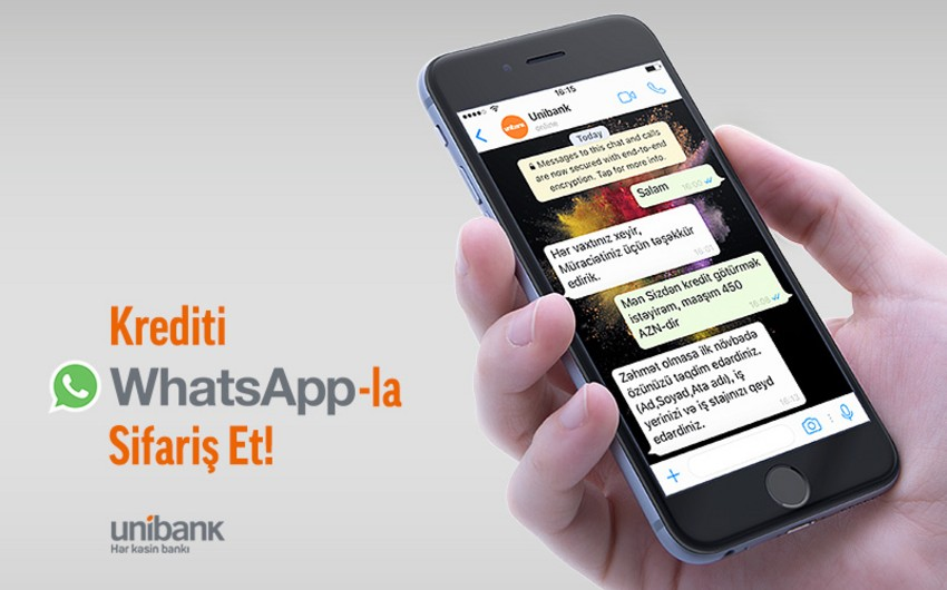 """Unibank"""" yeni xidmətini istifadəyə verib"""