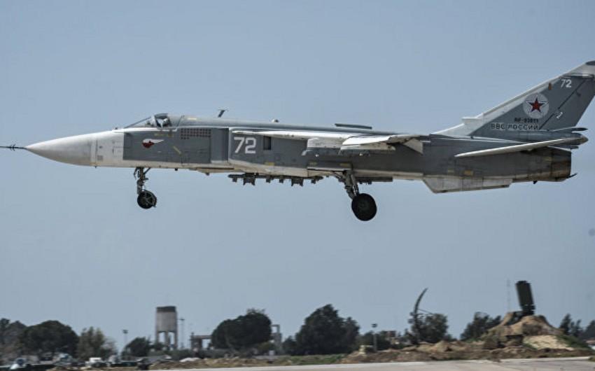 Rusiyanın Su-24 bombardmançı təyyarəsi Suriyada qəzaya uğrayıb