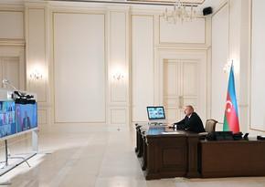 President of Azerbaijan speaks at Turkic Council's summit