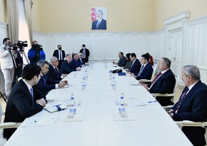 Ali Asadov receives Turkish minister of agriculture and forestry