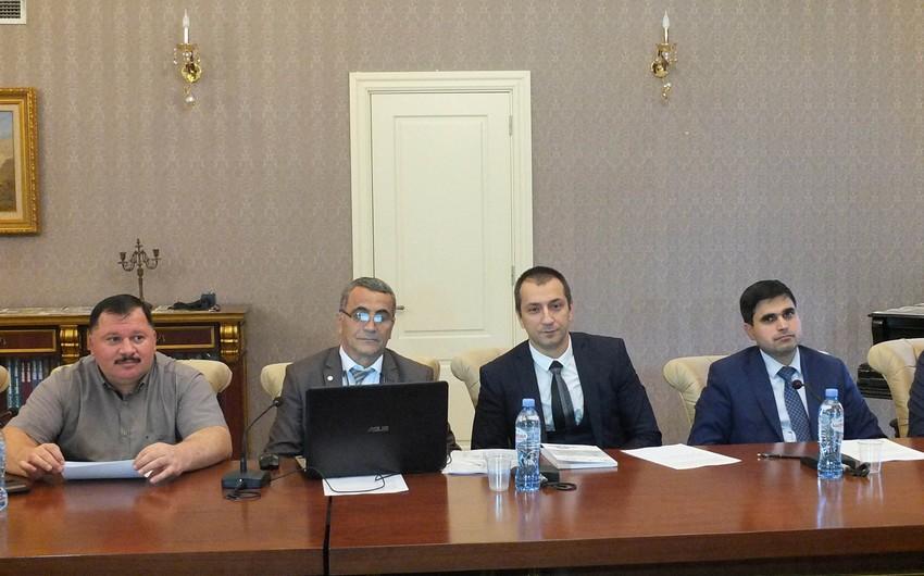 Georgia presents a book reflecting occupation of Azerbaijani territories by Armenians