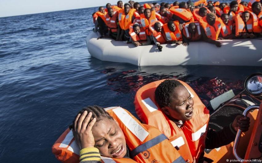 Aralıq dənizində 160-dan çox miqrant xilas edilib