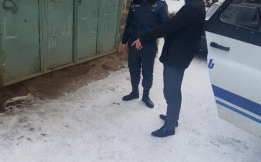Ermənistanda daha bir gənc ağır cinayət törədib - FOTO