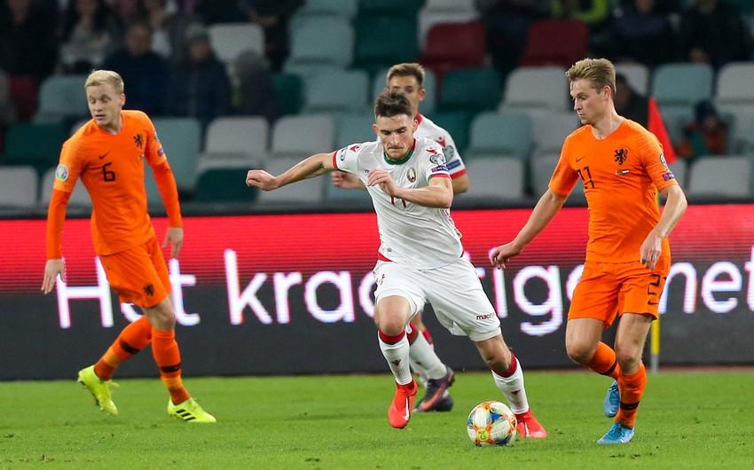 Belaruslu futbolçu: Azərbaycanla oyundan yeni nələrsə öyrəndik