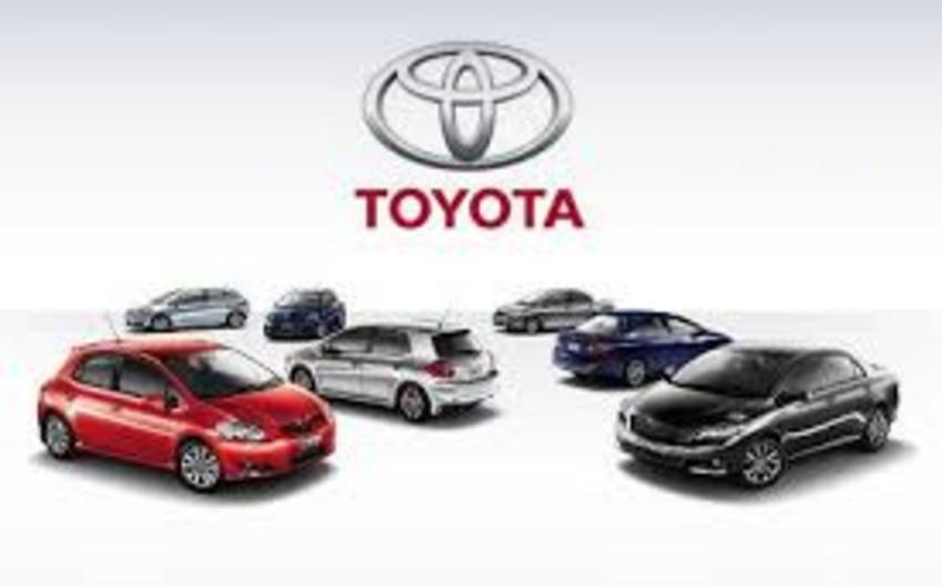 """""""Toyota"""" mənfəətinin rekord həddə çatması barədə məlumat yayıb"""