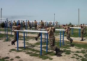 Подготовка новобранцев в Азербайджанской армии