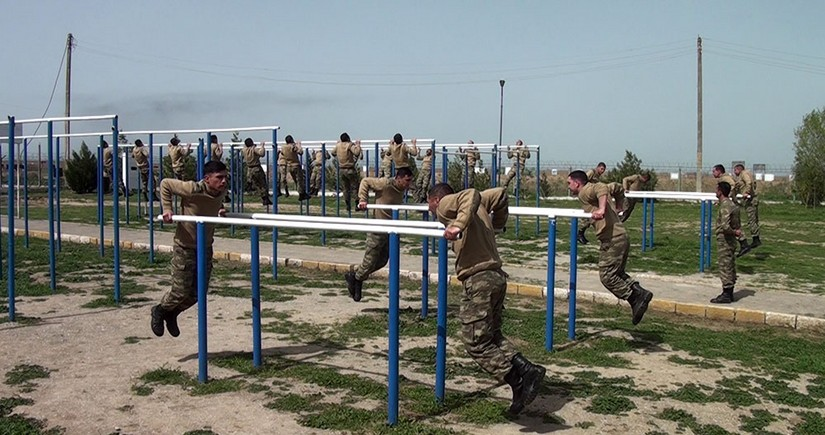 Special attention paid to training of young soldiers in Azerbaijan Army