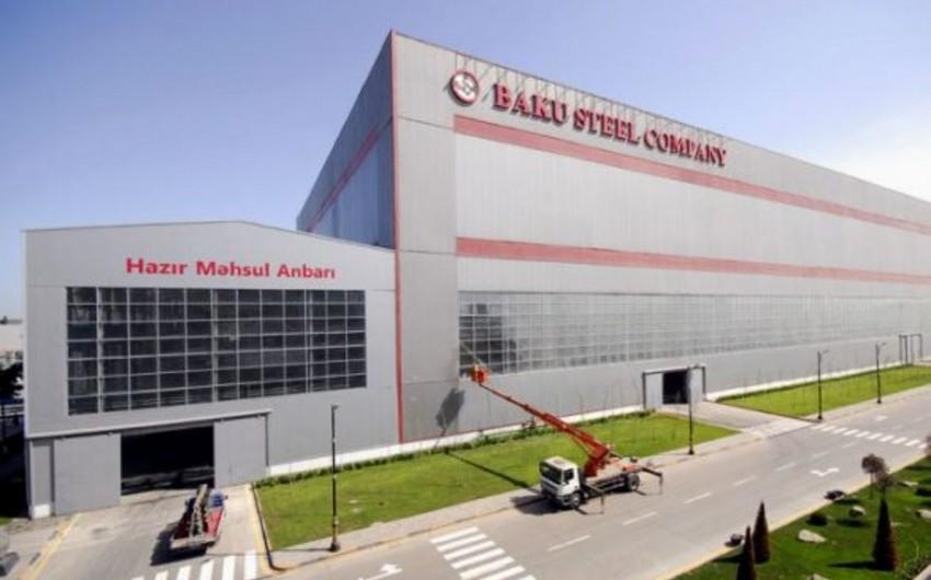 """""""Baku Steel Company""""də alov fəhlələrin üzərinə püskürüb, 4 nəfər yaralanıb - YENİLƏNİB"""