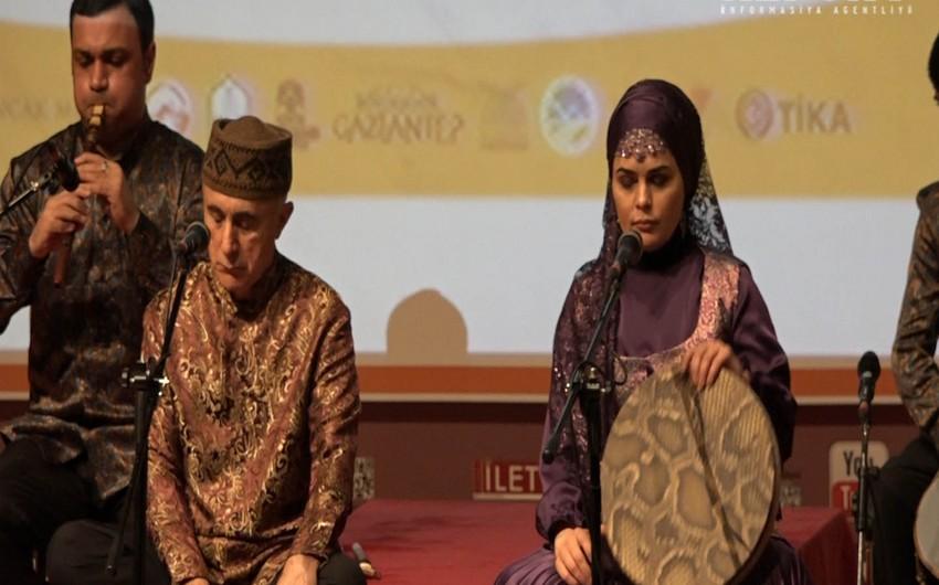 Alim Qasımov və Fərqanə Qasımova İstanbulda konsert proqramı ilə çıxış ediblər