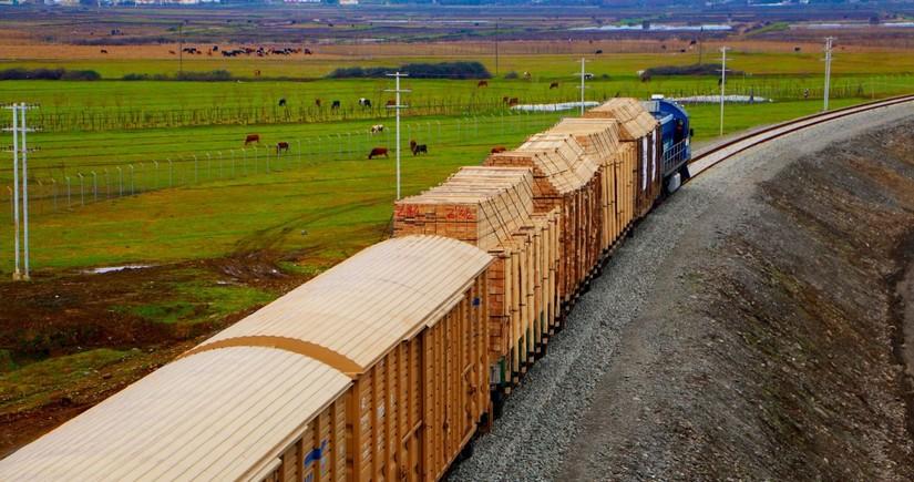 АЖД в прошлом году увеличил транзитные грузоперевозки на 9%