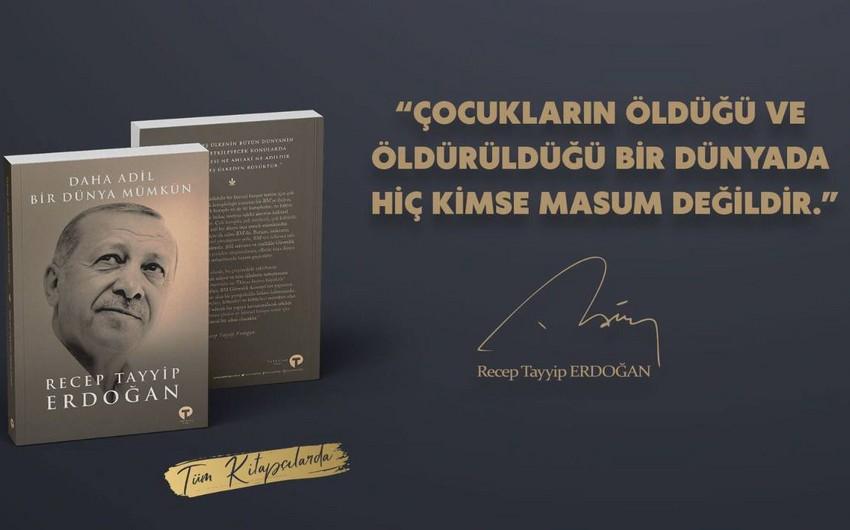Rəcəb Tayyib Ərdoğanın kitabı çapdan çıxıb