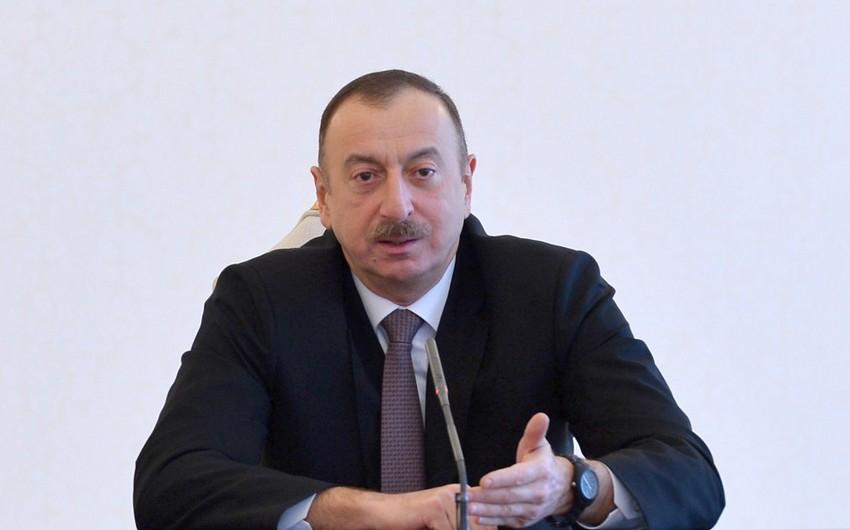 Azərbaycan Prezidenti: Əminliklə deyə bilərəm ki, biz ərazi bütövlüyümüzü bərpa edəcəyik