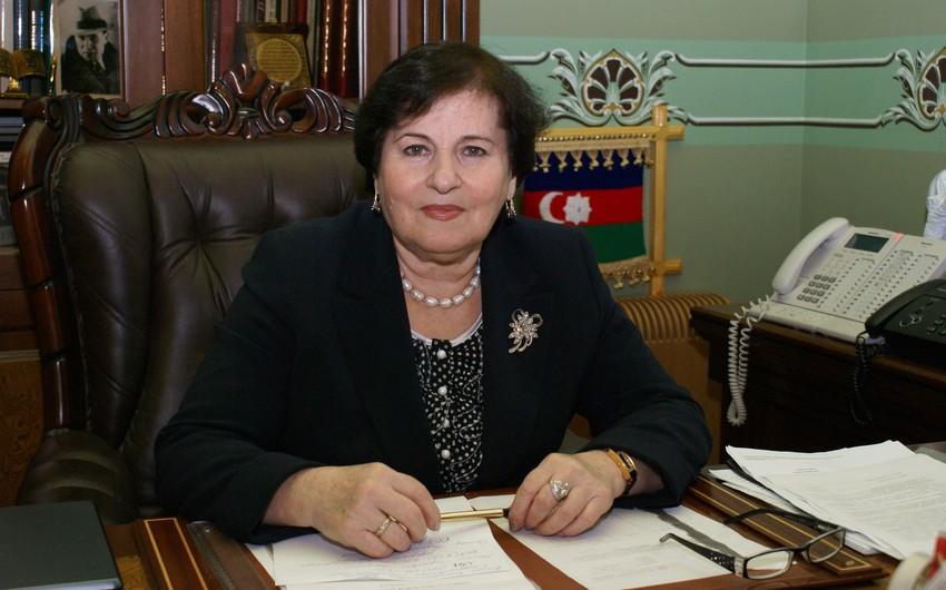 """Nailə Vəlixanlıya """"Şərəf"""" ordeni verilib"""