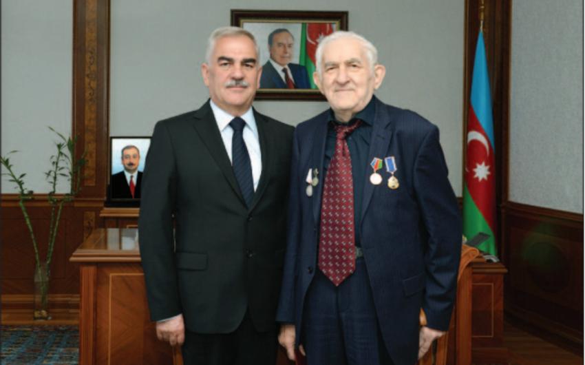 Vasif Talıbov görkəmli bəstəkar Tofiq Bakıxanovla görüşüb
