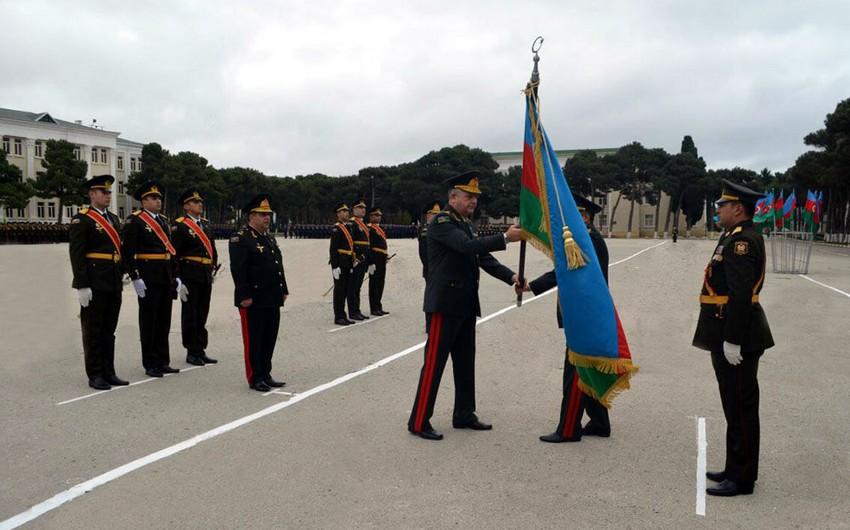 Состоялась церемония вручения боевых знамен специальным учебным заведениям министерства обороны