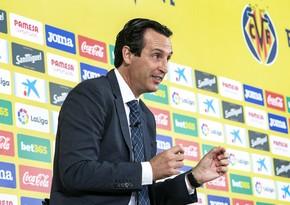 Unay Emeri: Qarabağ sabah Sivasspor kimi oynayacaq