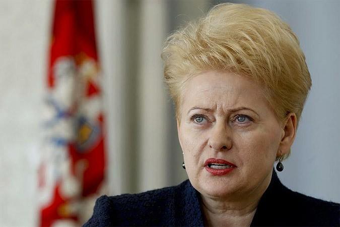 Президент Литвы поздравила Президента Азербайджана