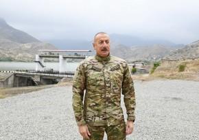 Azerbaijani President: The liberation of Fuzuli during the war was very important